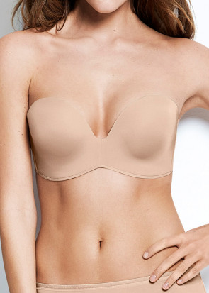 Wonderbra Perfect Strapless bh A-I kupa beige