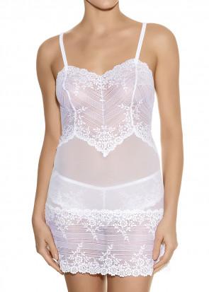 Wacoal Embrace Lace chemise S-XXL vit