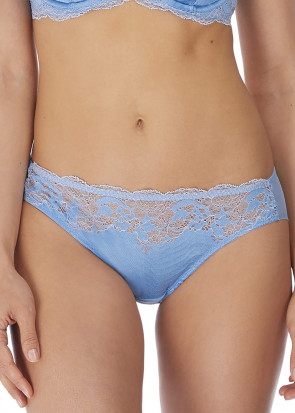 Wacoal Lace Affair brieftrosa S-XL blå