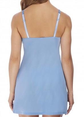 Wacoal Lace Affair chemise S-XL blå