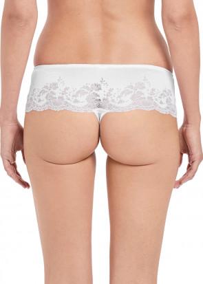 Wacoal Lace Affair tanga trosa S-XL vit