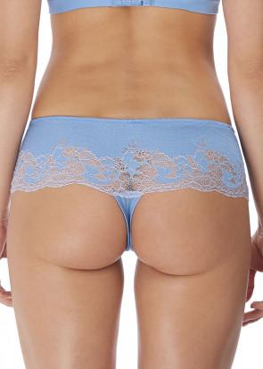 Wacoal Lace Affair tanga trosa S-XL blå
