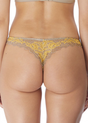 Wacoal Lace Perfection tanga trosa S-XL beige