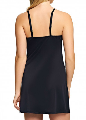 Wacoal Lace Affair chemise S-XL graphite/svart