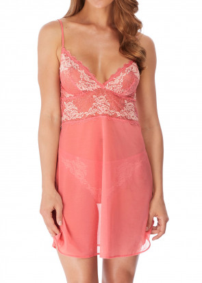 Wacoal Lace Perfection chemise S-XL rosa
