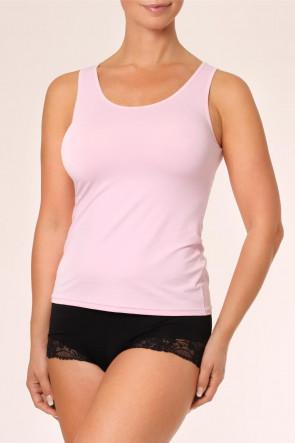 Avet microfiber linne S-XL rosa