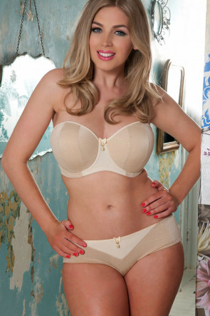 Curvy Kate Luxe hipstertrosa S-XL biscotti