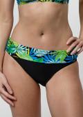 Abecita Garden bikiniunderdel med vikbar kant 36-48 svart