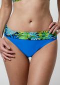 Abecita Garden bikiniunderdel med vikbar kant 36-48 blå
