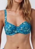 Abecita Miami Twisted bikiniöverdel B-F kupa grön