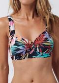 Abecita Sicilia mjuk bikinibehå B/C-D/E kupa mönstrad