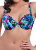 Freya Swim Jungle Flower Deco bikiniöverdel D-J kupa mönstrad