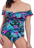 Freya Swim Jungle Flower Tankini C-I kupa mönstrad