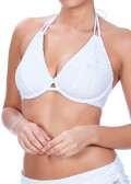 Freya Swim Sundance Halterneck Bikinitopp C-H Vit