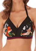 Freya Swim Club Envy bikiniöverdel C-I kupa mönstrad