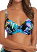 Fantasie Swim Paradise Bay bikiniöverdel med bygel D-M kupa aqua multi