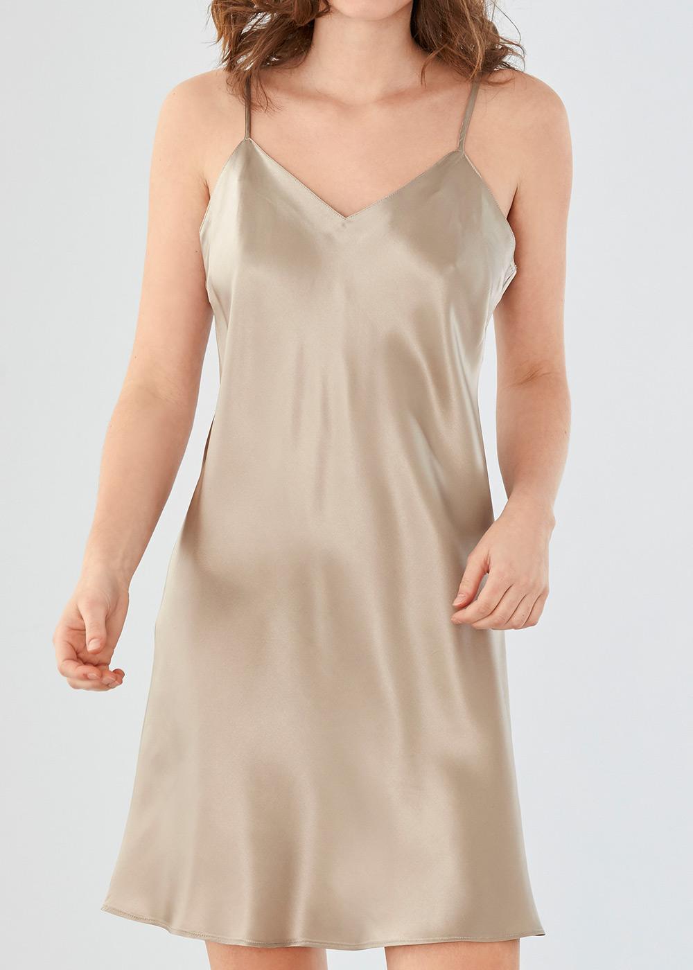 Damella nattlinne silke XS-XL beige  9f971fc9747de